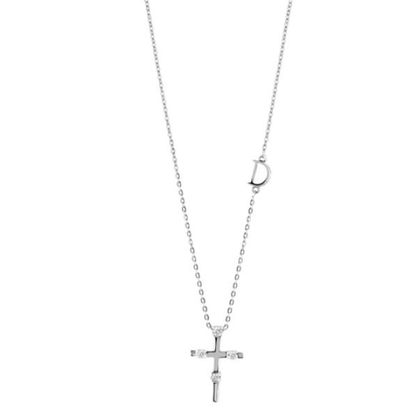Подвеска Damiani Mini Symbols белое золото, бриллианты (20046146)