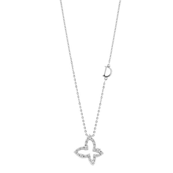 Подвеска Damiani Mini Symbols белое золото, бриллианты (20046143)