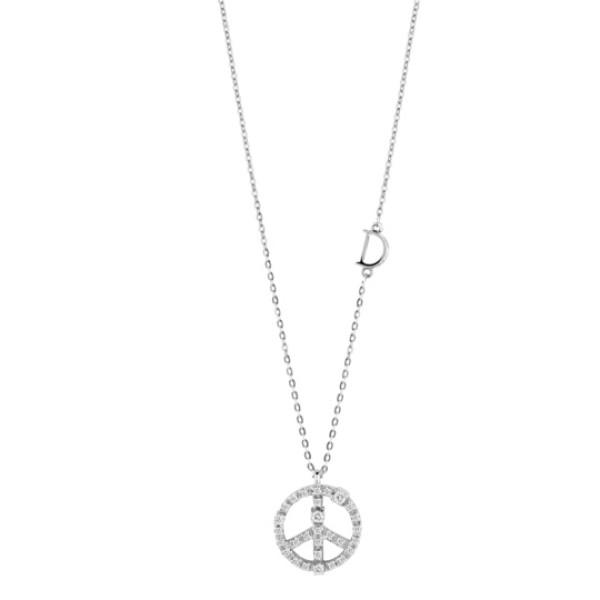 Подвеска Damiani Mini Symbols белое золото, бриллианты (20046009)