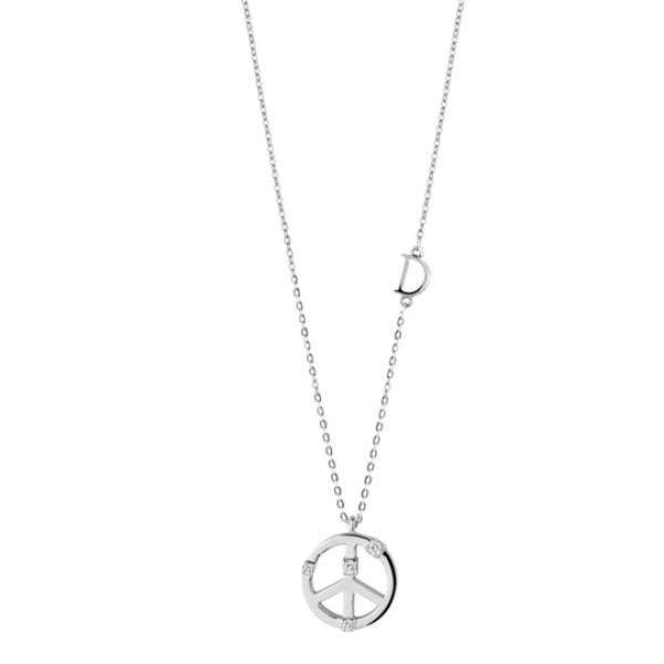 Подвеска Damiani Mini Symbols белое золото, бриллианты (20046013)