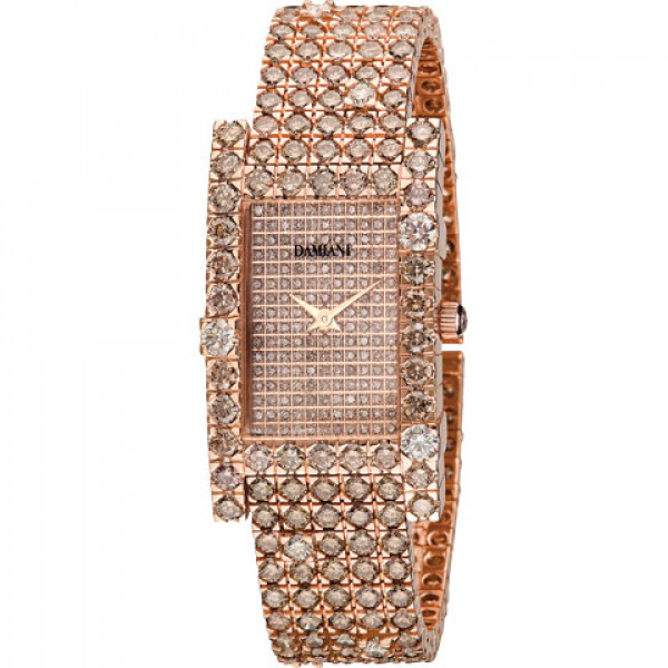 Часы Damiani Notte di San Lorenzo розовое золото, бриллианты (30013986)