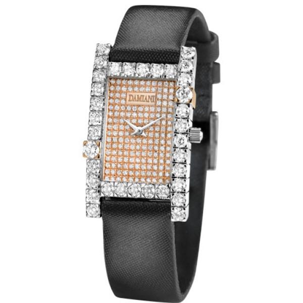 Часы Damiani Notte di San Lorenzo белое, розовое золото, бриллианты (30002556)