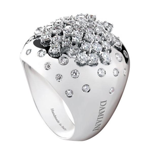 Кольцо Damiani Paradise белое золото, бриллианты (20036994)