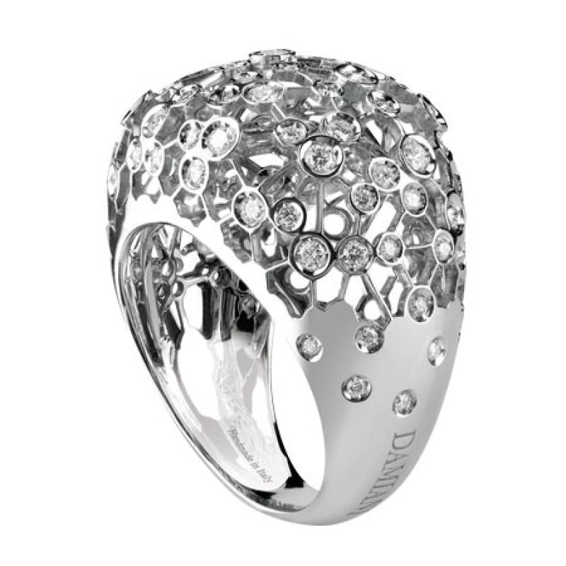 Кольцо Damiani Via Lattea белое золото, бриллианты (20044186)
