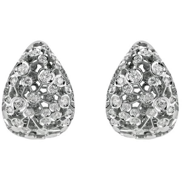 Серьги Damiani Via Lattea белое золото, бриллианты (20044203)