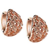 Серьги Damiani Via Lattea розовое золото, бриллианты (20044696)