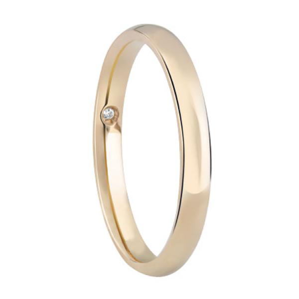 Обручальное кольцо Damiani Noi2, желтое золото (20046530)