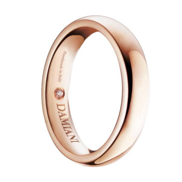 Обручальное кольцо Damiani Noi2, розовое золото (20035620)