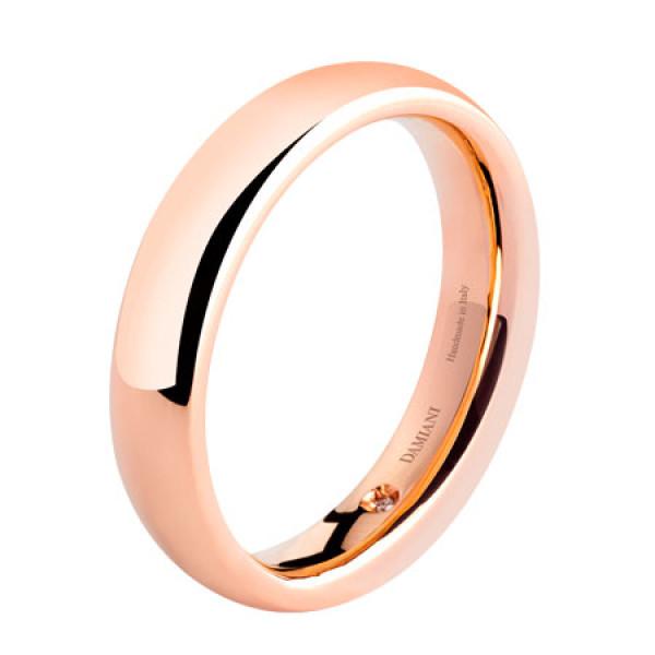 Обручальное кольцо Damiani Noi2, розовое золото (20035729)