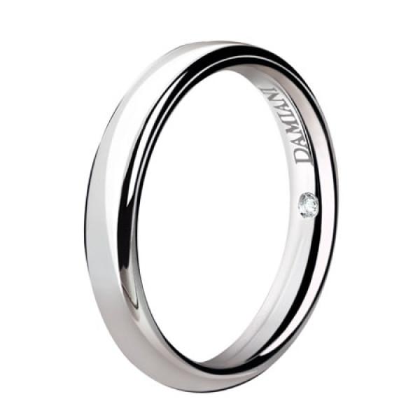 Обручальное кольцо Damiani Noi2, белое золото (20035792)