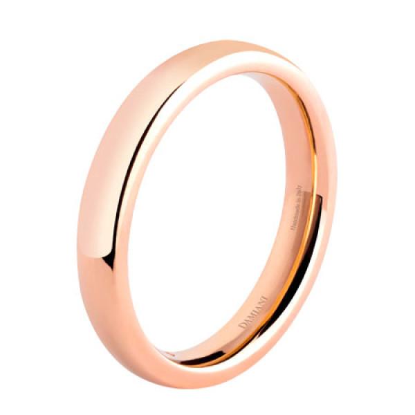 Обручальное кольцо Damiani Noi2, розовое золото (20035834)