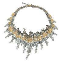 Колье Damiani Masterpieces Vulcania белое золото, бриллианты