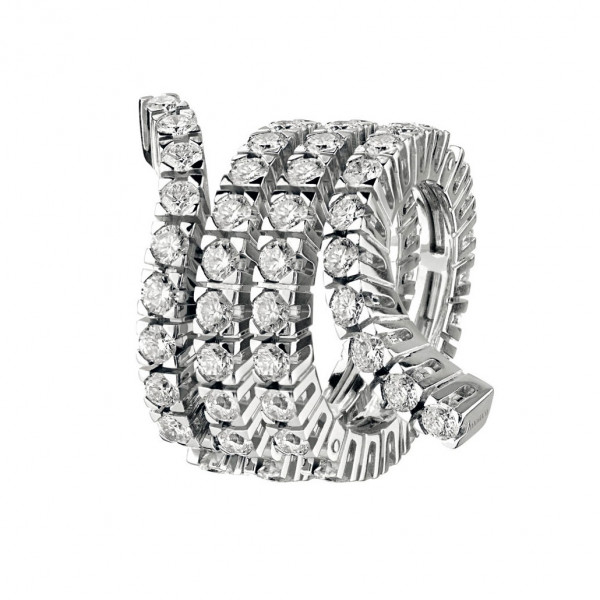 Кольцо Damiani Masterpieces Eden белое золото, бриллианты