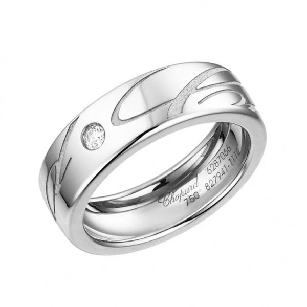 Кольцо Chopard Chopardissimo белое золото, бриллиант (827941-1110)