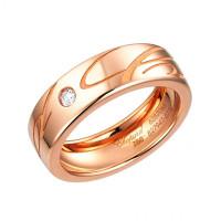 Кольцо Chopard Chopardissimo розовое золото, бриллиант (827941-5110)