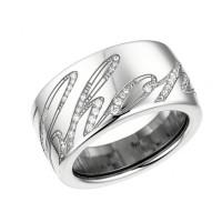 Кольцо Chopard Chopardissimo белое золото, бриллианты (826580-1210)