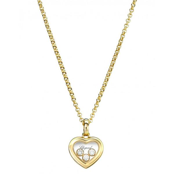 Подвеска Chopard Happy Diamonds желтое золото, бриллианты (794611-0001)