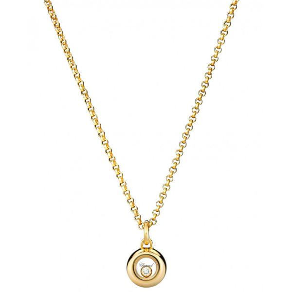 Подвеска Chopard Happy Diamonds желтое золото, бриллиант (799010-0001)