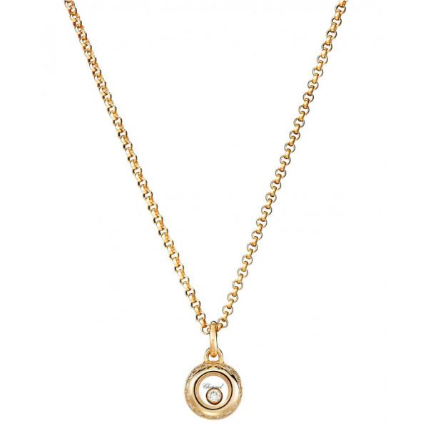 Подвеска Chopard Happy Diamonds Miss Happy желтое золото, бриллианты (799012-0001)
