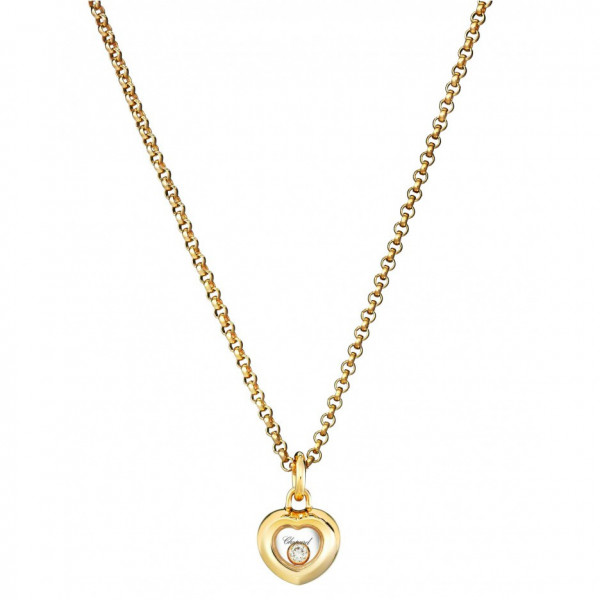 Подвеска Chopard Happy Diamonds Miss Happy желтое золото, бриллиант (799006-0001)