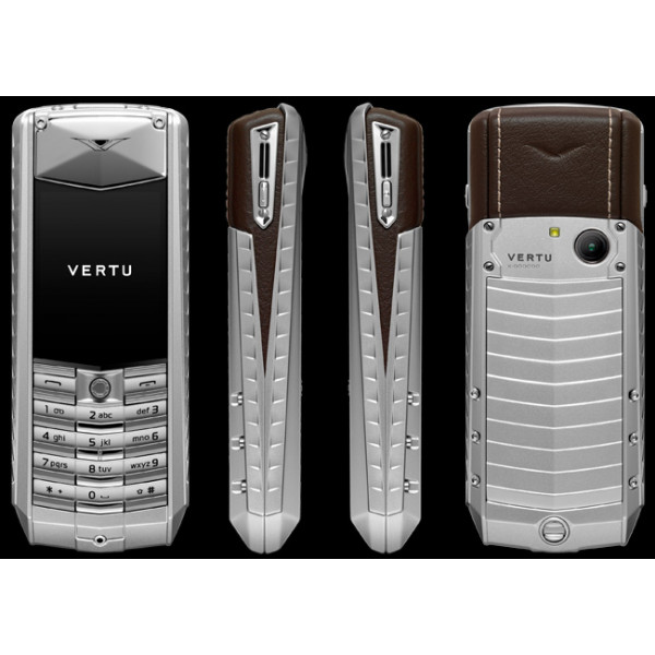 Vertu Ascent X Brown Leather