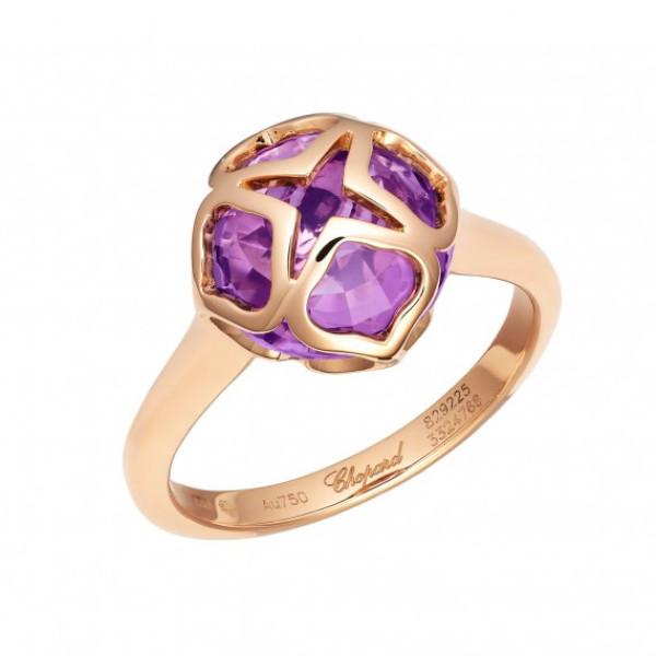 Кольцо Chopard Imperiale розовое золото, аметист (829225-5010)
