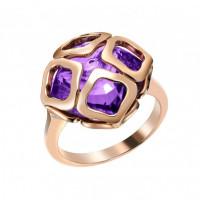 Кольцо Chopard Imperiale розовое золото, аметист (829221-5039)