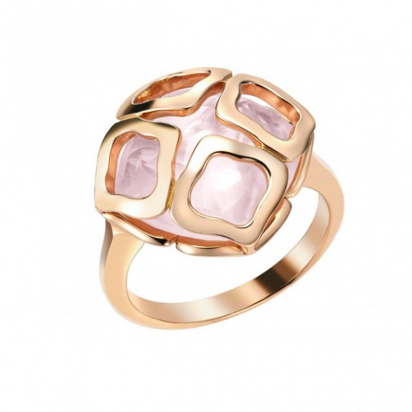 Кольцо Chopard Imperiale розовое золото, кварц (829221-5010)