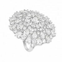 Кольцо Chopard Green Carpet Collection белое золото, бриллианты (829540-1001)