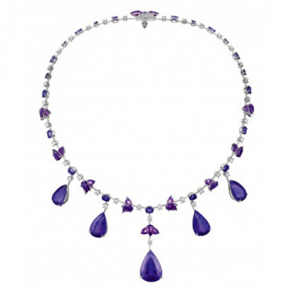 Колье Chopard Temptations Collection белое золото, драг. камни, бриллианты (819212-1001)
