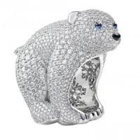 Кольцо Chopard Animal World Collection белое золото, драг. камни, бриллианты (827495-1015)