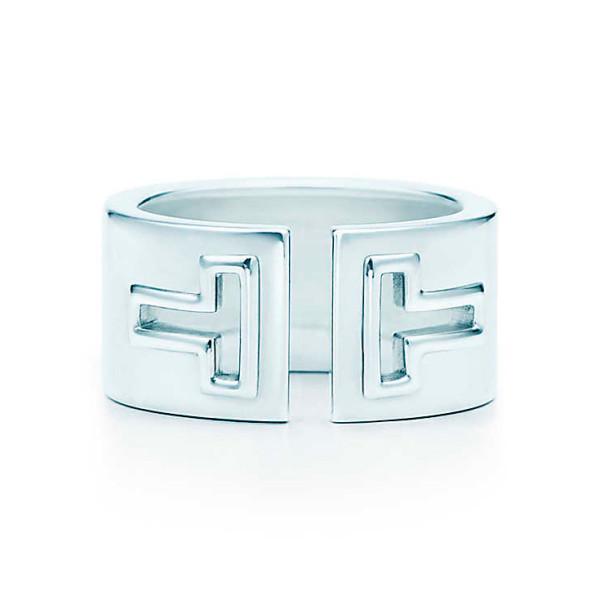 Кольцо Tiffany T Cutout, стерлинговое серебро (33278748)