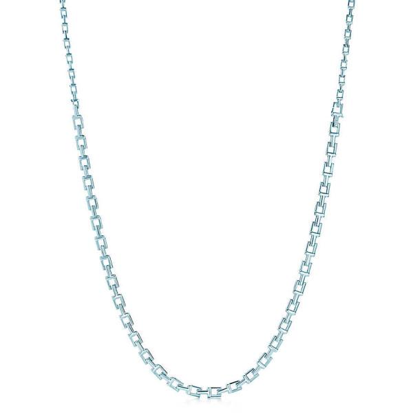 Ожерелье Tiffany T Chain, стерлинговое серебро (33278829)