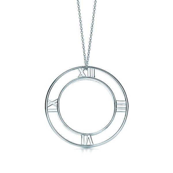 Круглая подвеска Tiffany & Co Atlas, серебро (32948499)