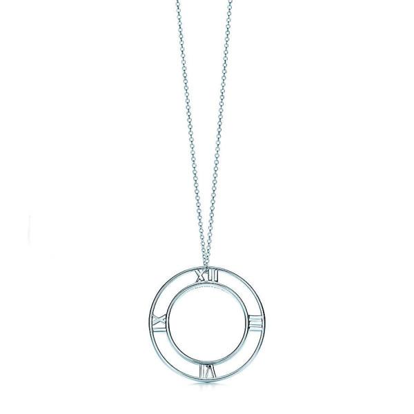 Круглая подвеска Tiffany & Co Atlas, серебро (32948529)
