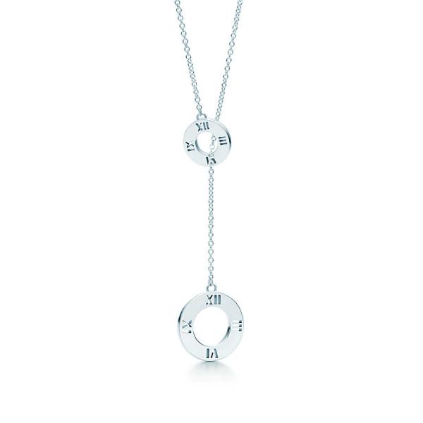 Ожерелье-лассо Tiffany & Co Atlas, серебро (30419359)