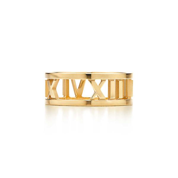 Открытое кольцоTiffany & Co Atlas, желтое золото (32269109)