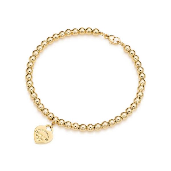 Браслет из бусин Return to Tiffany, желтое золото (23993104)
