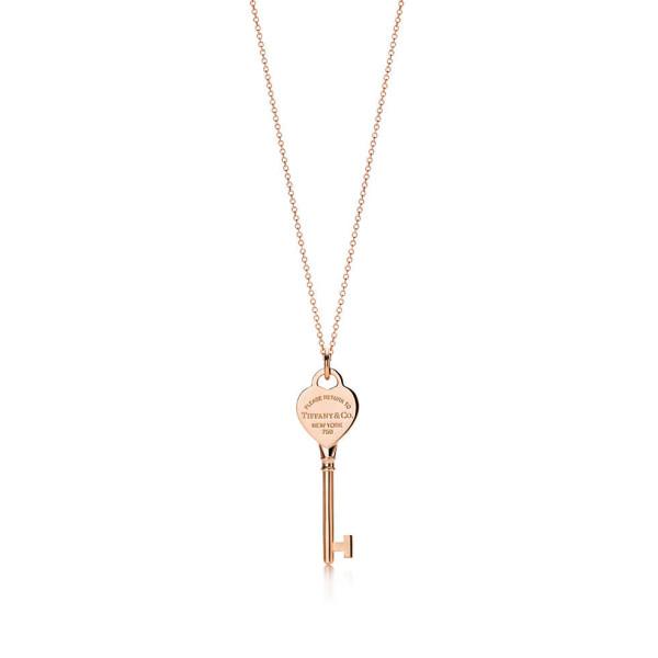 Подвеска-ключ Return to Tiffany, розовое золото (25508335)