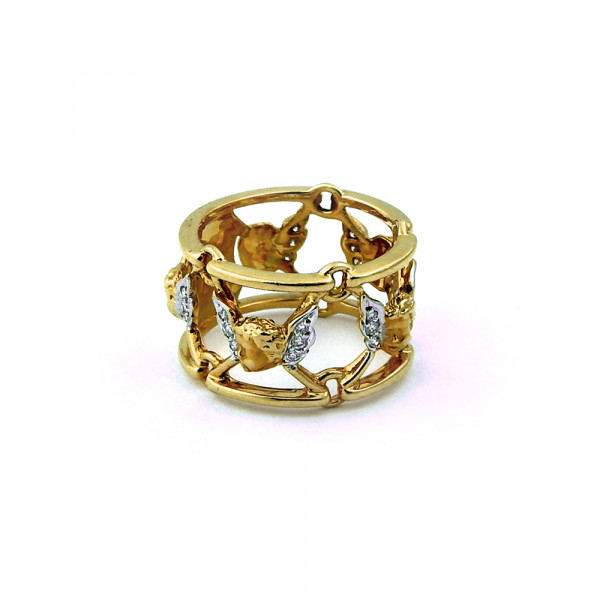 Кольцо Carrera y Carrera, золото 750, бриллианты