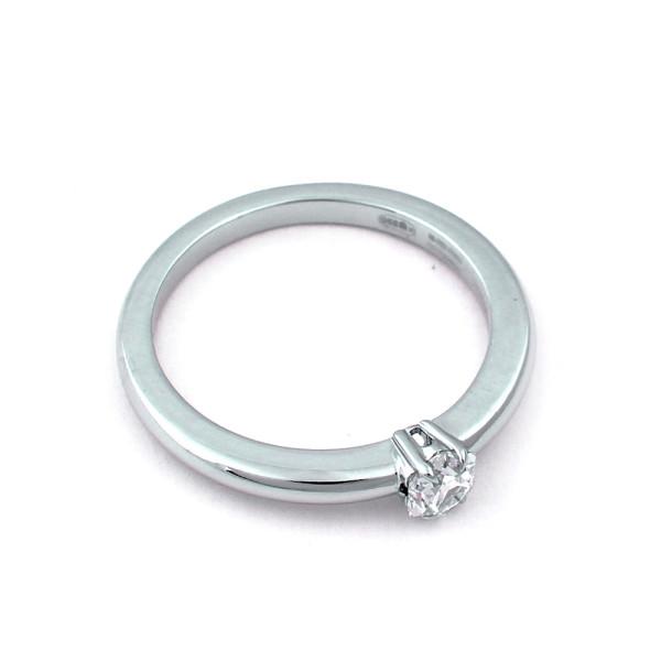 Кольцо Mont Blanc, платина 950, бриллиант