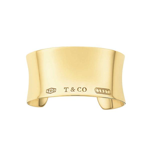 Браслет-кафф Tiffany 1837, желтое золото (28135688)
