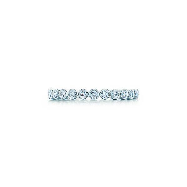 Кольцо Tiffany Jazz, платина, бриллианты (21319635)