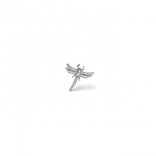 Брошь Tiffany Enchant в виде стрекозы, платина, бриллианты (14403426)