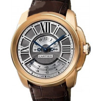 Cartier watches Multiple Time Zone