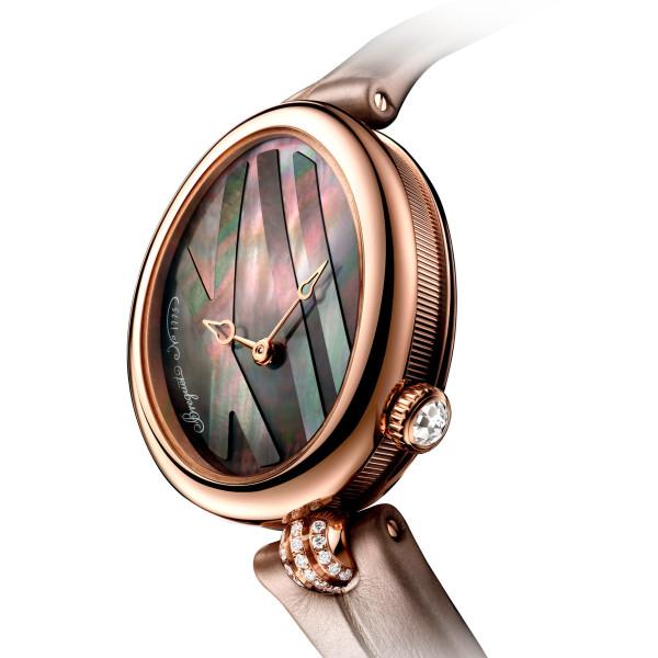Breguet Reine de Naples 9808, розовое золото, бриллианты (9808BR/5T/922 0D00/0D00)