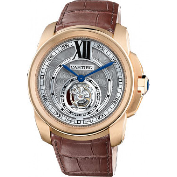 Cartier watches Calibre Montre tourbillon volant