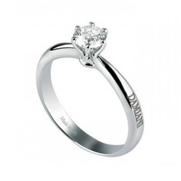 Кольцо Damiani Elettra, белое золото, бриллиант