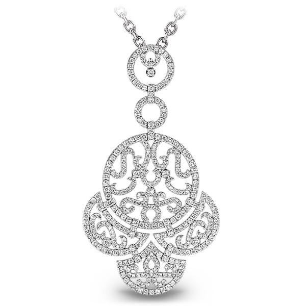 Подвеска Jacob & Co. Lace, белое золото 750, бриллианты