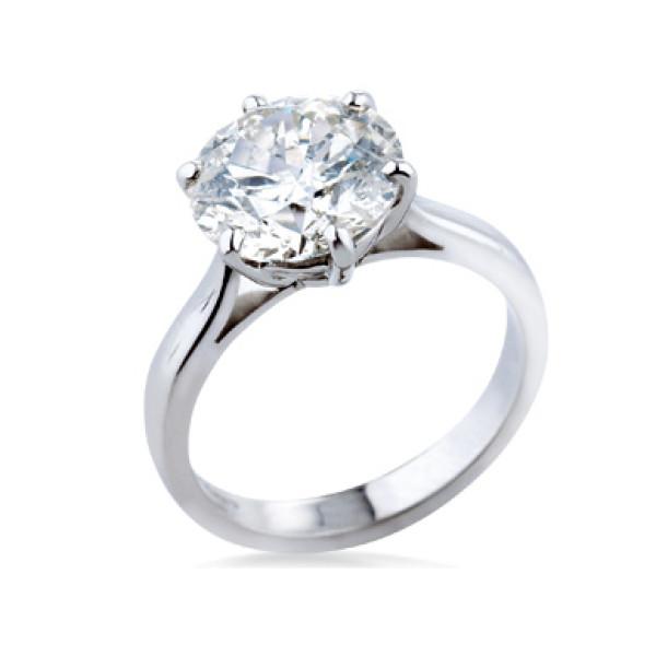 Кольцо Crivelli с бриллиантом, платина